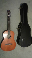 Yamaha CS-40, 7/8th size, Nylon String Classical Guitar-Natural