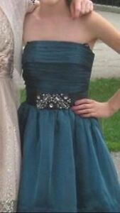 PROM DRESS - Teal Color MINT Condition