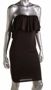 *NEW W TAGS DRESS THE POPULATION Lily Strapless Casual Dress M