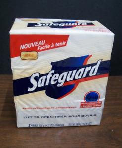 Safeguard Antibacterial Soap - 2 Packs of 3 -Big Bars