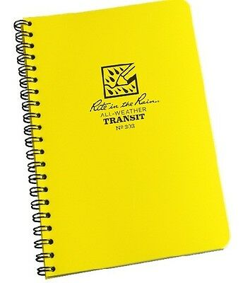 Rite In The Rain 303 All-weather Transit Spiral Notebook 4 58 X 7