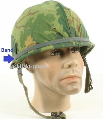 Helmet Band Foilage Green f Military USMC Army Helmet PASGT MICH M1Steel Pot P38