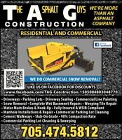 TAG Construction and Landscaping small driways $4200