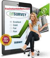 EARN UP TO $250/HR COMPLETING ONLINE SURVEYS