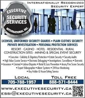 Security Guards * Rosseau * Parry Sound * Huntsville * Bala