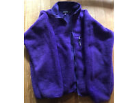 Patagonia retro fleece jacket. Mens. Large. Purple. VGC