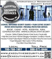 Security Guard * Private Investigator * Muskoka Huntsville Bala