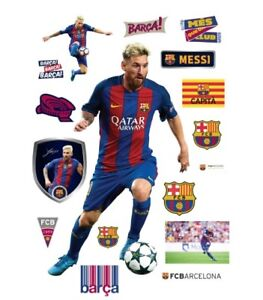 Lionel Messi life-size removable wall mural & decals