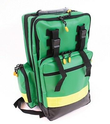 Kitted Compact Paramedic Back Pack First Aid First Responder Ambulance Emt