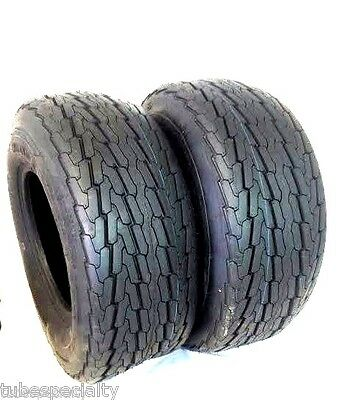 2 (TWO) 20.5x8-10 20.5x8.0-10 20.5x8.00-10 10 PR Load E Heavy Duty Trailer Tire