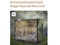 5ft rabbit hutch cover x