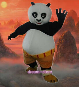?SALE? NEW KUNG FU PANDA MASCOT COSTUME ADULT SIZE PO