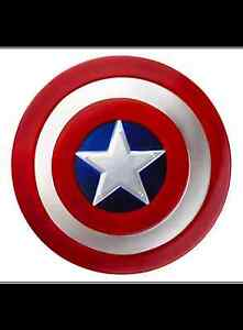 Captain America Plastic Shield 12 1/2in