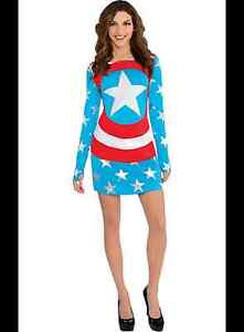 Captain America Halloween Dress (American Dream)