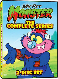 My Pet Monster The Complete Series 2 Disc Set