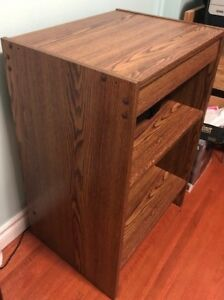 Wooden Bookcase and
