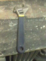"""NEW  1  """" ADJUSTABLE  WRENCH $ 10"""