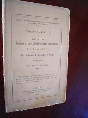 The Journal of the Royal Historical  Archaeological Association Ireland. 1880