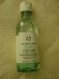 Body Shop Aloe calming toner