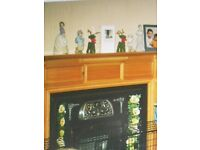 Beautiful Fire Surround/Tiled insert/Marble hearth...