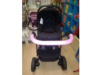 Girls pushchair