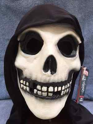 E FIEND HOODED Latex Deluxe Mask TOT's Officially Licensed  (Halloween-misfits)