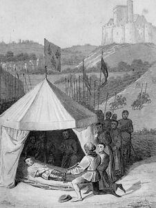 Tod-des-Bertrand-du-Guesclin-Mort-Duguesclin-Grandes-Chroniques-de-France-1455