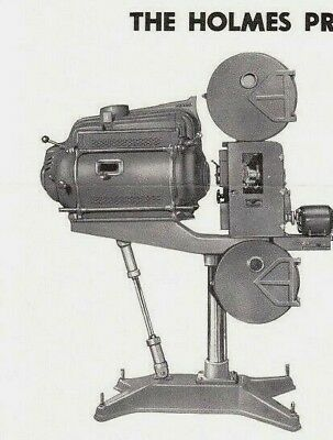 Holmes P 35mm Sound Motion Picture Projector Museum Quality Stationery