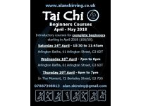 Tai Chi Beginners Courses - April 2018