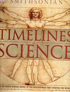 SMITHSONIAN TIMELINES OF SCIENCE SAVE $32 GREAT BOOK FOR KIDS
