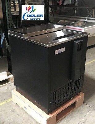 New 26 Top Loading Back Bar Beer Bottle Cooler Deep Well Refrigerator Nsf