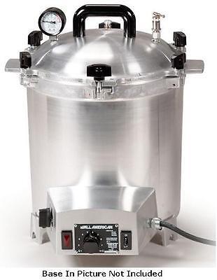 New ALL AMERICAN 50X-220v Electric Autoclave Sterilizer