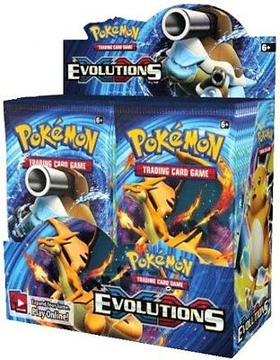 Pokemon XY Evolutions Booster Box - Factory Sealed - Free Shipping!