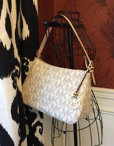 Michael Kors Jet Set Vanilla  Handbag