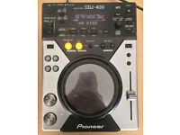 Pioneer CDJ 400 CDJ400 CD deck turntable