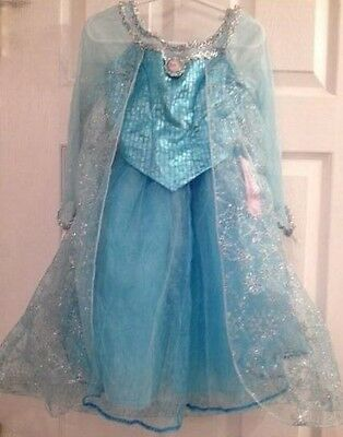 Disney Parks Elsa Kostüm (Authentic! DISNEY PARKS World Land Frozen Princess ELSA Fancy Dress COSTUME 2/3)