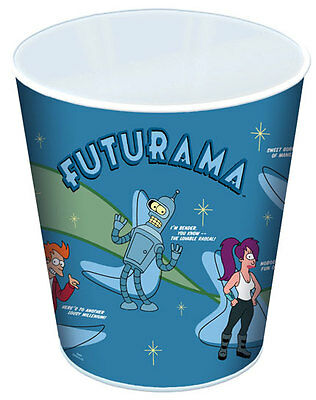 "Futurama 12"" Tin Litho Trash Can"