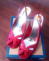 Women's Shoes-red