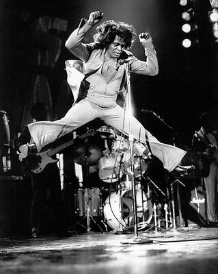Soul Singer Dancer JAMES BROWN Glossy 8x10 Photo Funk Music Print Poster