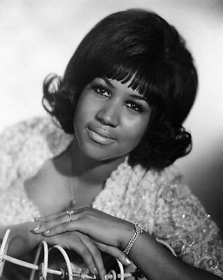 'Queen of Soul' Singer ARETHA FRANKLIN Glossy 8x10 Photo Music Print Poster
