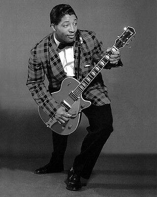 Rhythm & Blues Singer BO DIDDLEY Glossy 8x10 Photo Glossy Musical Print Poster