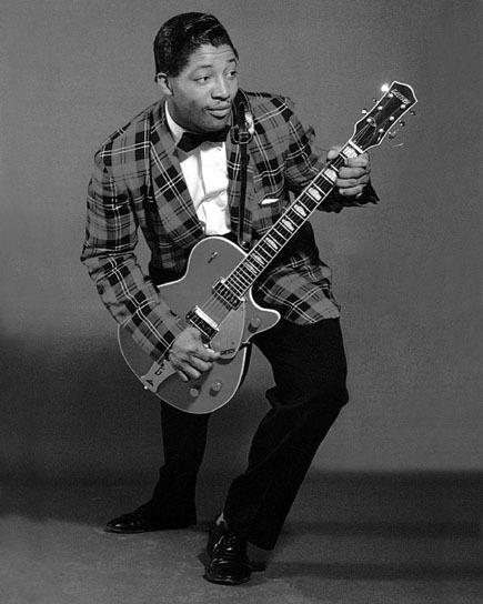 Rhythm & Blues Singer BO DIDDLEY Glossy 8x10 Photo Glossy Musical Print