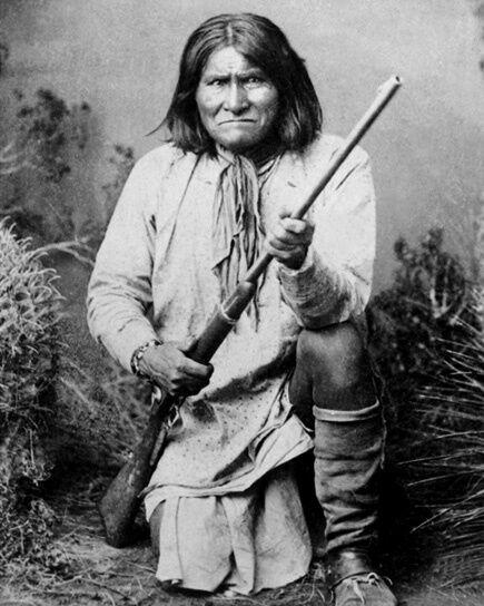 1886 Native American Indian GERONIMO Glossy 8x10 Photo Apache Leader Print