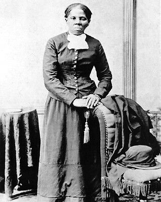 Civil Rights Activist HARRIET TUBMAN Glossy 8x10 Photo Historical Vintage Print