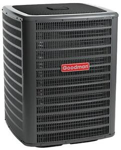 Goodman air conditioners priced right for the season.  Get a quote right over the phone or online.