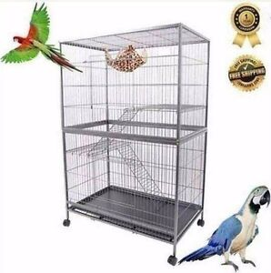 3 Level Luxury Cockatiel Parrot Pet Aviary Bird Cage Bayswater Knox Area Preview