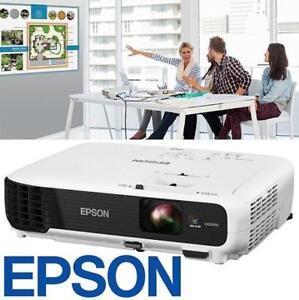 REFURB EPSON 3LCD PROJECTOR VS345 142626158 WXGA 3000 LUMENS REFURBISHED