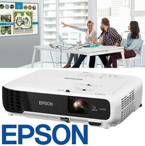 REFURB EPSON 3LCD PROJECTOR VS345 142626158 WXGA 3000 LUMENS REFURBISHED