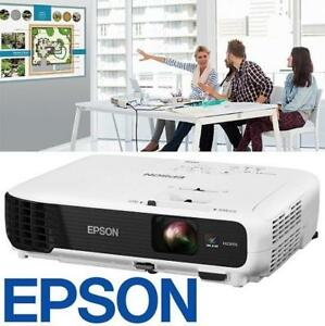 NEW OB EPSON 3LCD PROJECTOR VS345 142688674 WXGA 3000 LUMENS OPEN BOX