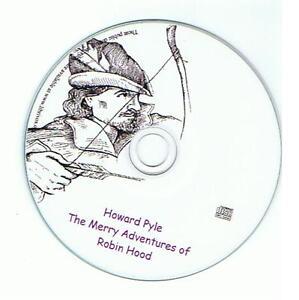Adventures-of-Robin-Hood-11-hours-English-AudioBook-Digital-Unabridged-Mp3-CD